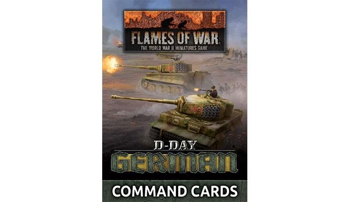 Flames of War Flames of War Command Cards: D-Day, German