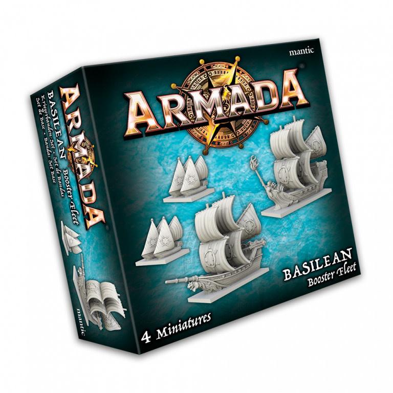 Mantic Armada: Basilean Booster Fleet