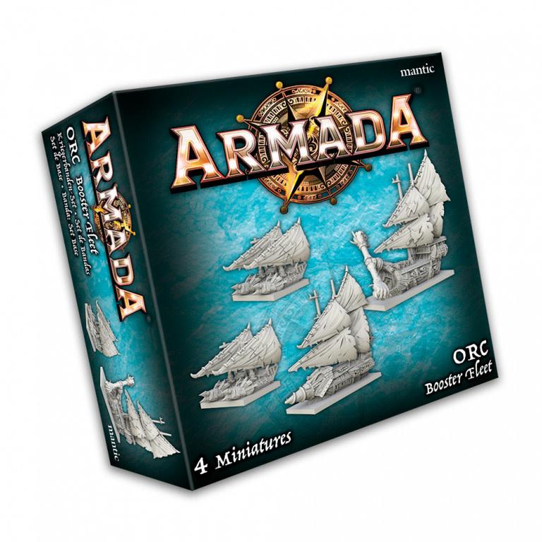 Mantic Armada: Orc Booster Fleet