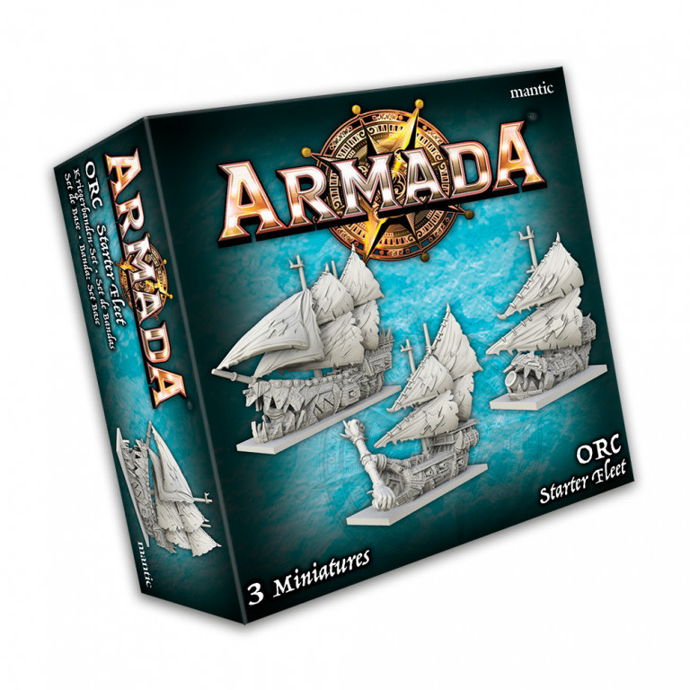 Mantic Armada: Orc Starter Fleet