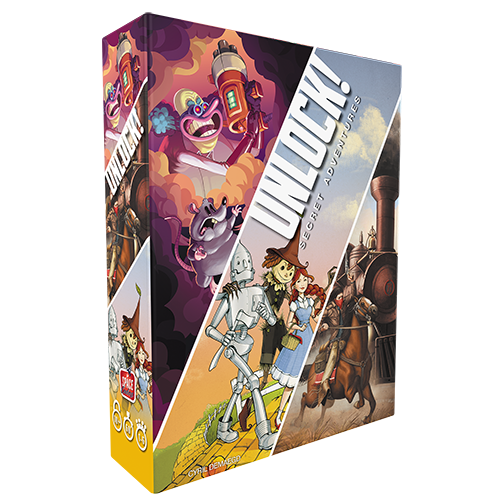 Space Cowboys Unlock!: Secret Adventures (3 part box)
