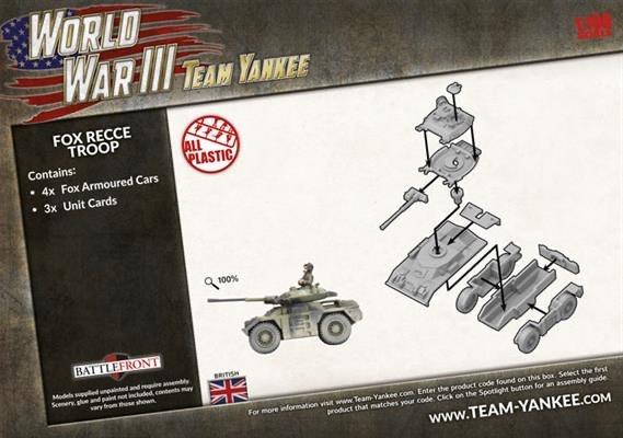 Team yankee Team Yankee: British- Fox Recce Troop