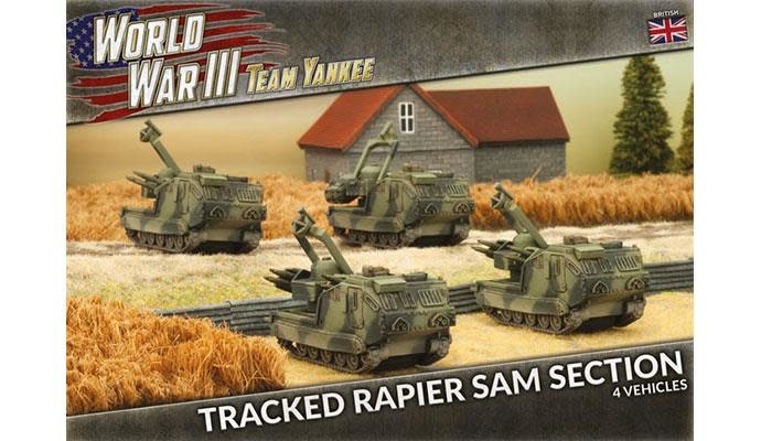 Team yankee Team Yankee: British- Tracked Rapier SAM Section