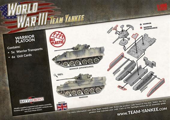Team yankee Team Yankee: British- Warrior Platoon