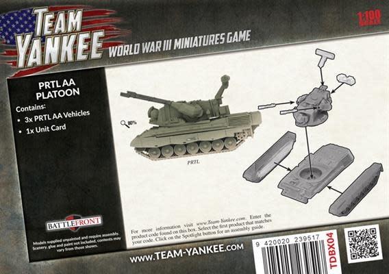 Team yankee Team Yankee: NATO Netherland- PRTL AA Platoon