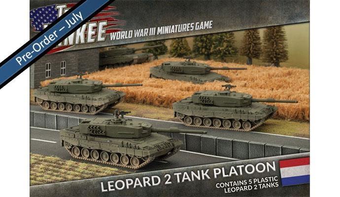 Team yankee Team Yankee: NATO Netherland- Leopards 2 Tank Platoon