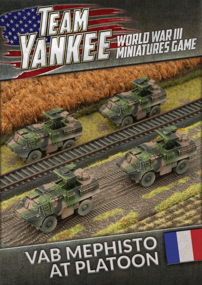 Team yankee Team Yankee: NATO French- VAB Mephisto anti tank Platoon