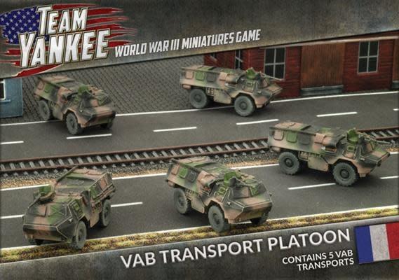 Team yankee Team Yankee: NATO French- VAB Transport Platoon