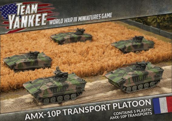 Team yankee Team Yankee: NATO French- AMX-109 Transport Platoon