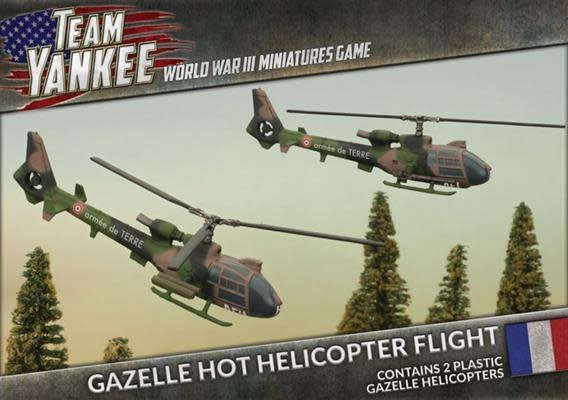 Team yankee Team Yankee: NATO French- Gazelle Hot Helicopter Flight