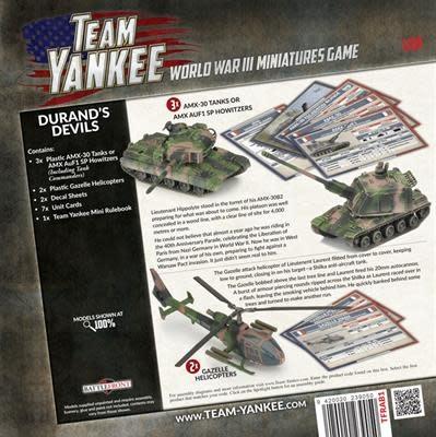 Team yankee Team Yankee: NATO French- Durands Devils Starter Set