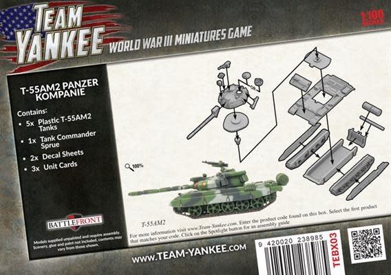 Team yankee Team Yankee: East German- T-55AM2 Panzer Kompanie