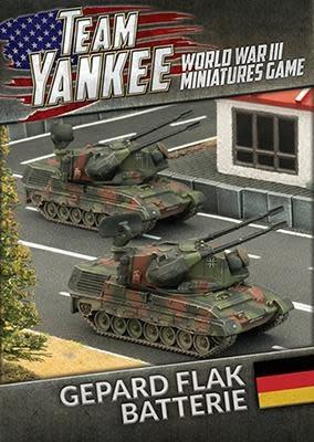 Team yankee Team Yankee: German- Gepard Flak Batterie