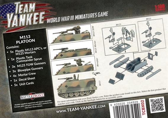 Team yankee Team Yankee: Canadian- M113 Platoon