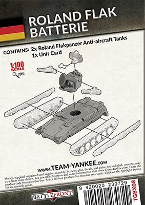 Team yankee Team yankee: German- Roland Flank Batterie