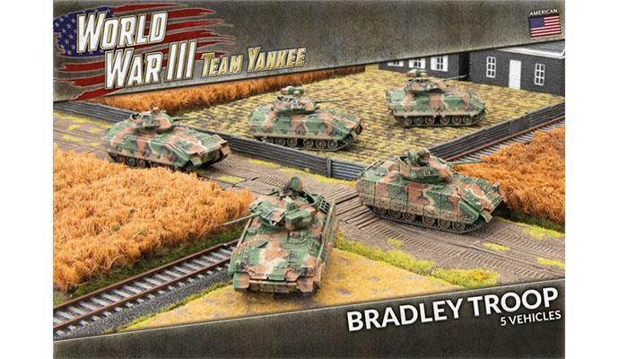 Team yankee Team Yankee: American- Bradley Troop