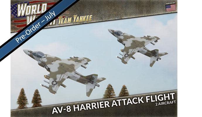 Team yankee Team Yankee: American- AV-8 Harrier Attack Flight