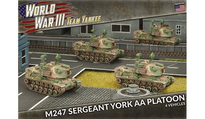 Team yankee Team Yankee: American- M247 Sergeant York AA Platoon