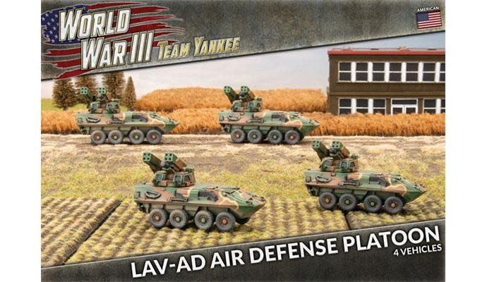 Team yankee Team Yankee: American- LAV-AD Air Defense Platoon