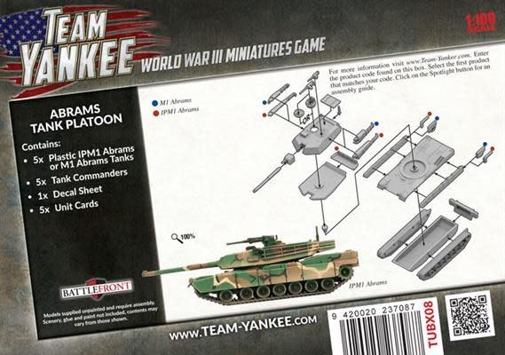 Team yankee Team Yankee: American- Abrams Tank Platoon