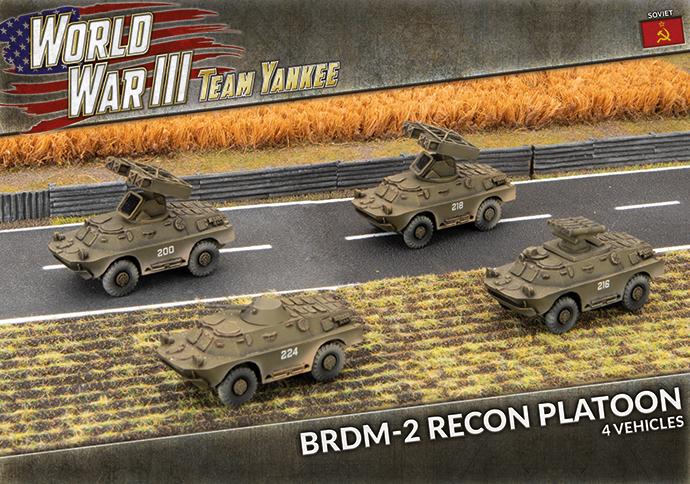 Team yankee Team Yankee: Soviet- BRDM-2 Recon Platoon