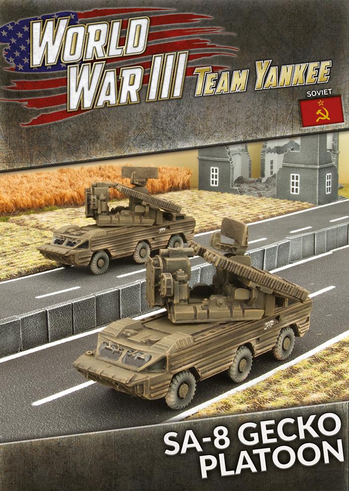Team yankee Team Yankee: Soviet- SA-8 Gecko SAM Platoon