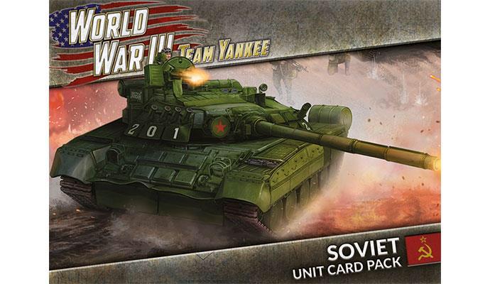 Team yankee Team Yankee Unit Card: Soviet