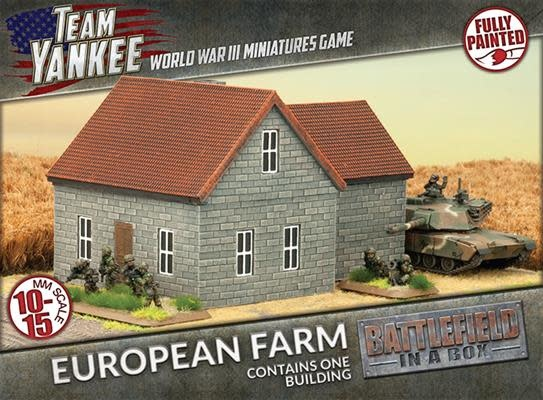 Battlefield in a Box Team Yankee Terrain: European Farm
