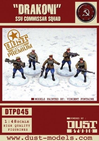 Dust Tactics Dust Tactics: Drakoni SSU commissar squad Soviet
