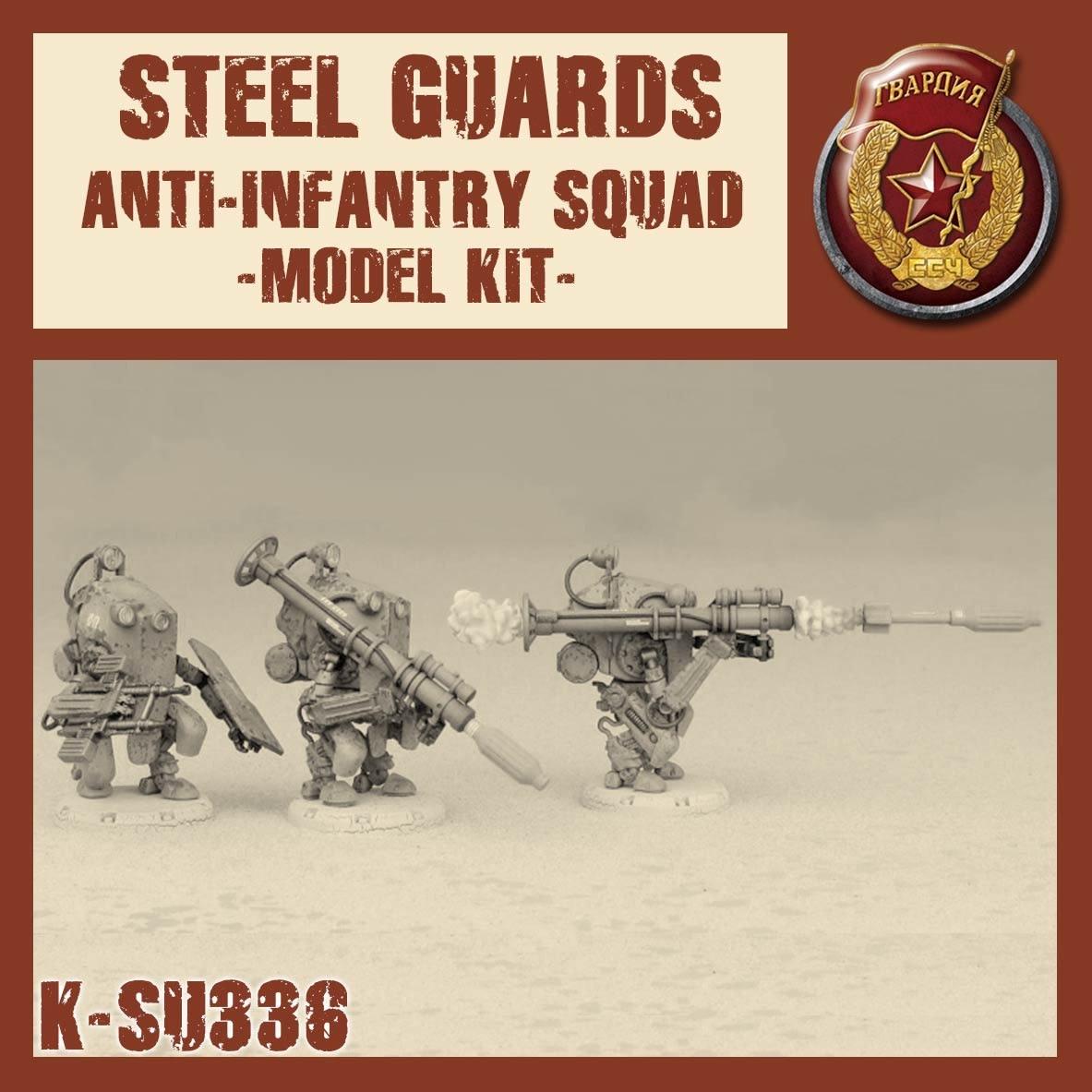 Dust Tactics Dust Tactics: Steel Guards Anti-InfantrySquad