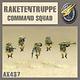 Dust Tactics Dust Tactics: Rakententruppe Comman Squad