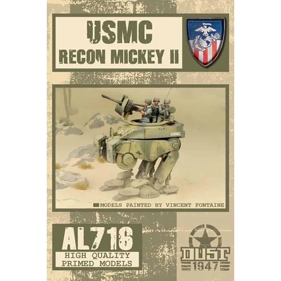 Dust Tactics Dust Tactics: USMC Recon Mickey II