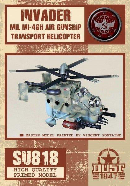 Dust Tactics Dust Tactics: Invader Air Gunship MIL MI-46H Transport