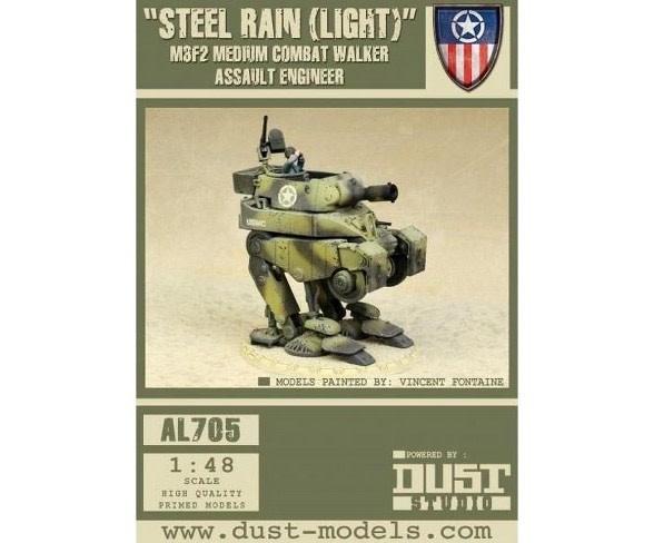 Dust Tactics Dust Tactics: Steel Rain (light) M2F2 Medium Combat Walker Assault Engineer