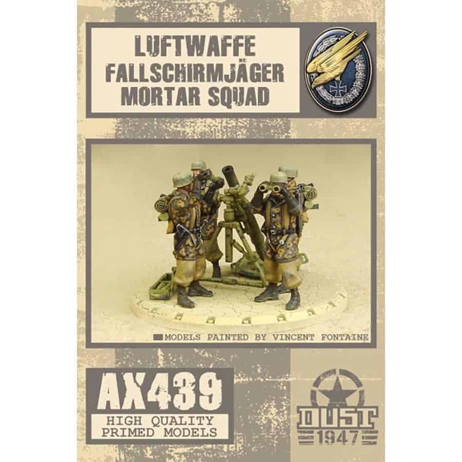 Dust Tactics Dust Tactics: Luftwaffe Fallschirm Jager Mortar Squad