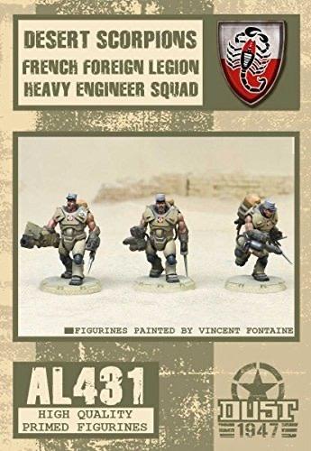 Dust Tactics Dust Tactics: Desert Scorpions French Foreign Legion Heavy Engineer Squad