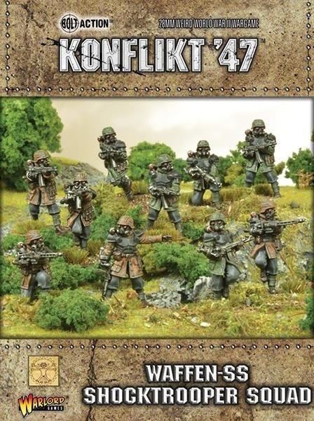 Warlord games Konflikt '47: German- Waffen SS Shocktrooper Squad