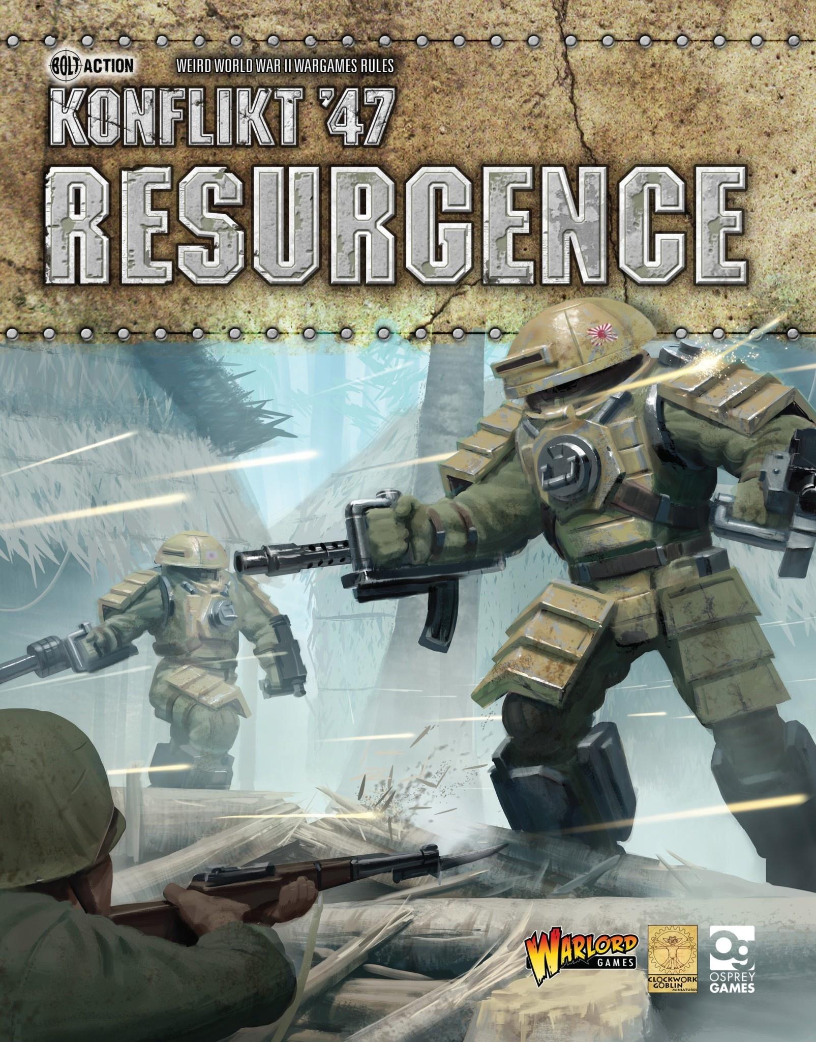 Warlord games Konflikt '47 Book: Resurgence