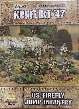 Warlord games Konflikt '47: US- Firefly Jump Infantry