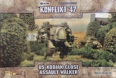 Warlord games Konflikt '47: US- Kodiak Close Assault Walker