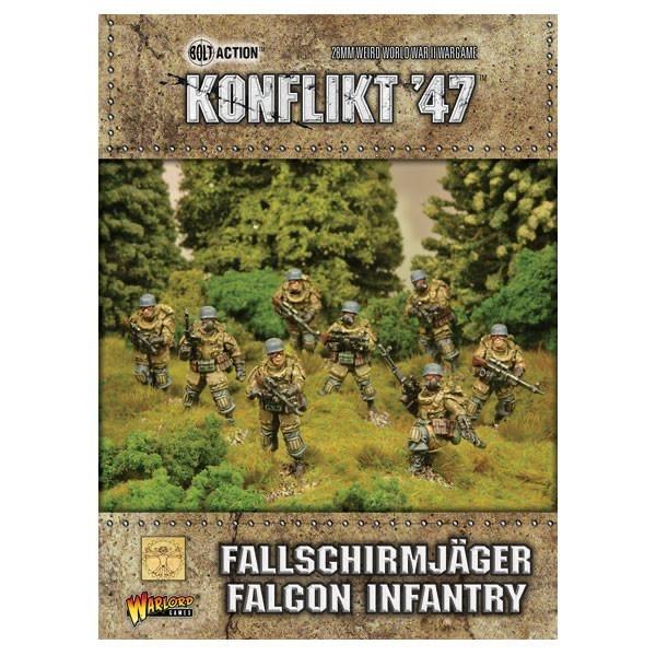 Warlord games Konflikt '47: German- Fallschirmjager Falcon Infantry