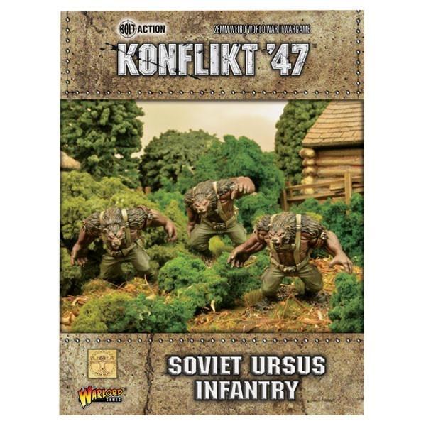 Warlord games Konflikt '47: Soviet- Ursus Infantry