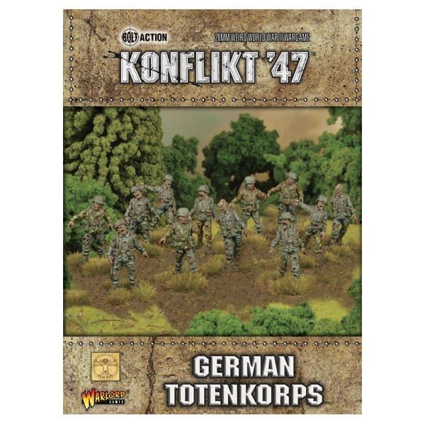 Warlord games Konflikt '47: German- Totenkorps
