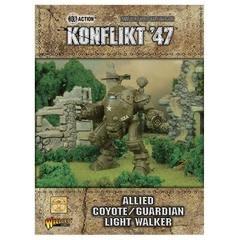 Warlord games Konflikt '47: Allied- Coyote/Guardian Light Walker