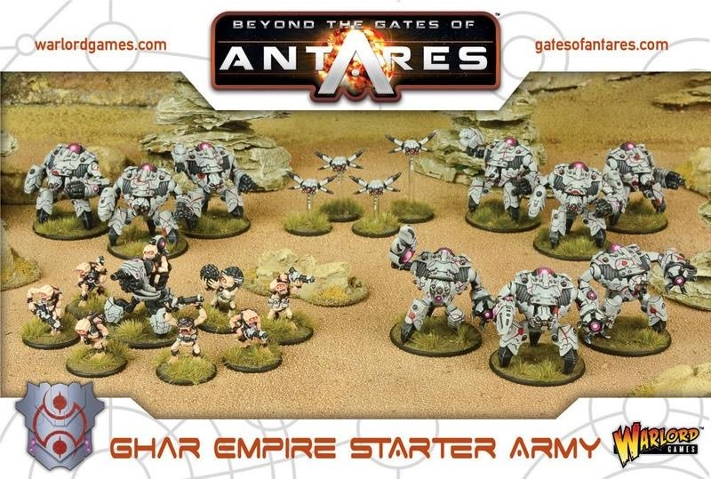 Warlord games Beyond the Gates of Antares: Ghar- Empire Starter Army