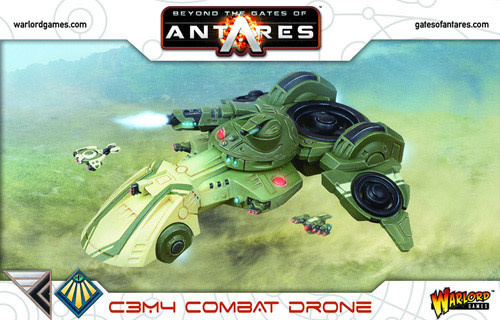 Warlord games Beyond the Gates of Antares: Concord/ Freeborn- C3M4 Combat Drone