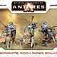 Warlord games Beyond the Gates of Antares: Boromite- Rock Rider Squad