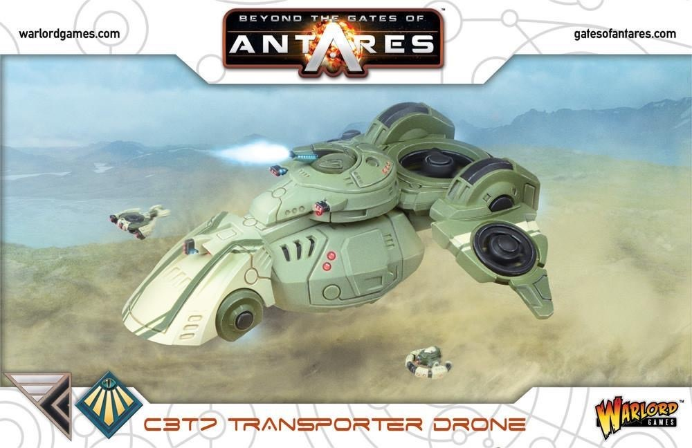 Warlord games Beyond the gates of Antares: Concord/ Freeborn- C3T7 Transporter Drone