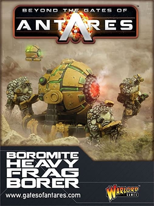 Warlord games Beyond the Gates of Antares: Boromite- Heavy Frag Borer