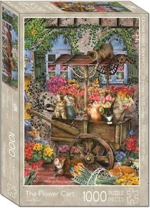 Crown Point Graphics Crown Point Puzzle: The Flower Cart (1000pc)